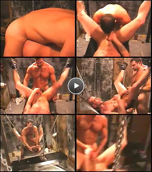 big muscles gay porn video